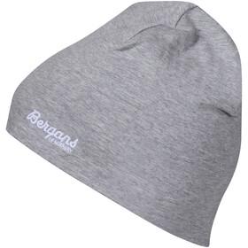 Bergans Bawełniana czapka Dzieci, grey melange